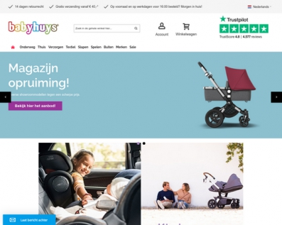 Baby Huys Webshop