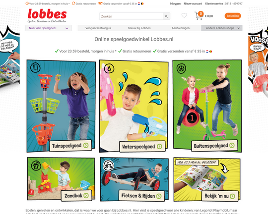Lobbes.nl reviews| Lees klantreviews over lobbes.nl