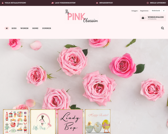 My Pink Obsession Logo